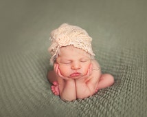 Newborn turban style hat