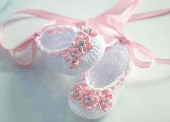 Items Similar To Baby Ballerina Slippers On Etsy