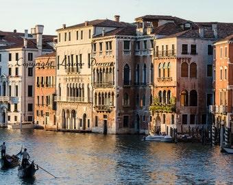 Evening light over Venice, Italy. 8x12