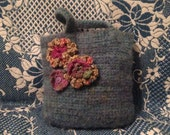 Organic Wool, Knitted Lunch Bag