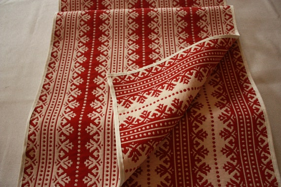 Cream 96x18 table christmas Christmas Red Table  Table nordic Nordic Casual runner Runner inch  Winter