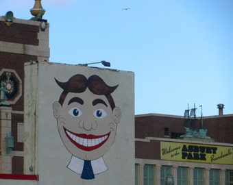 5 x 7 PRINT, Asbury Park photo with 8 x 10 mat, historic Jersey Shore, weird NJ, Bruce Springsteen, boardwalk, Tillie
