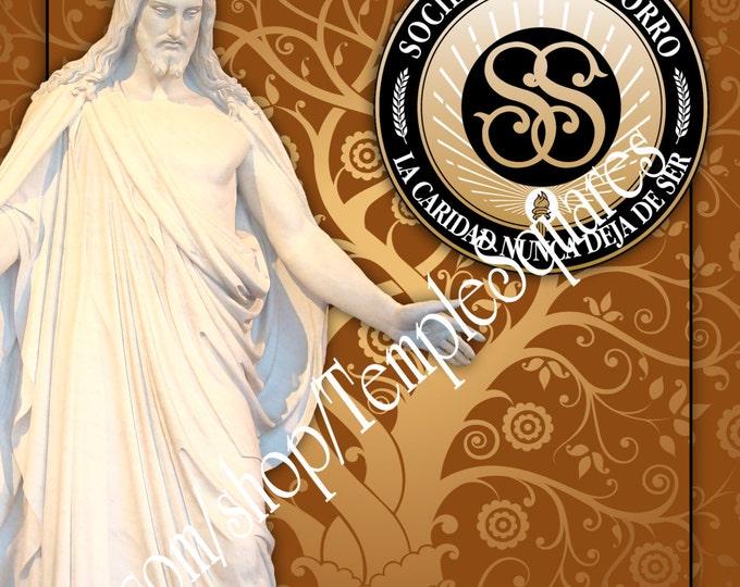 Printable Binder Cover and Spines. LDS Relief Society. En Espanol. Sociedad de Socorro  Instant Digital Download File.
