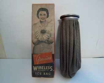 Vintage Ice Bag in original box.