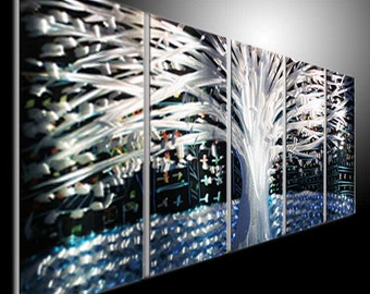 Metal Wall Art Abstract Decor Contemporary Modern Sculpture Hanging metal sculpture wall art metal painting tree