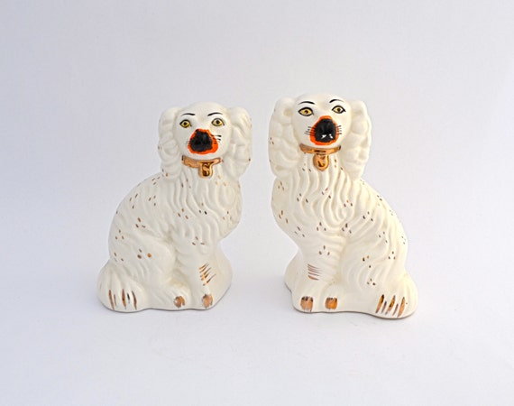 Vintage Pair of Staffordshire Dogs
