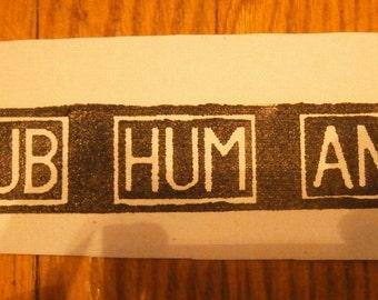Subhumans Patch
