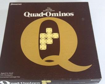 Quad-ominos game