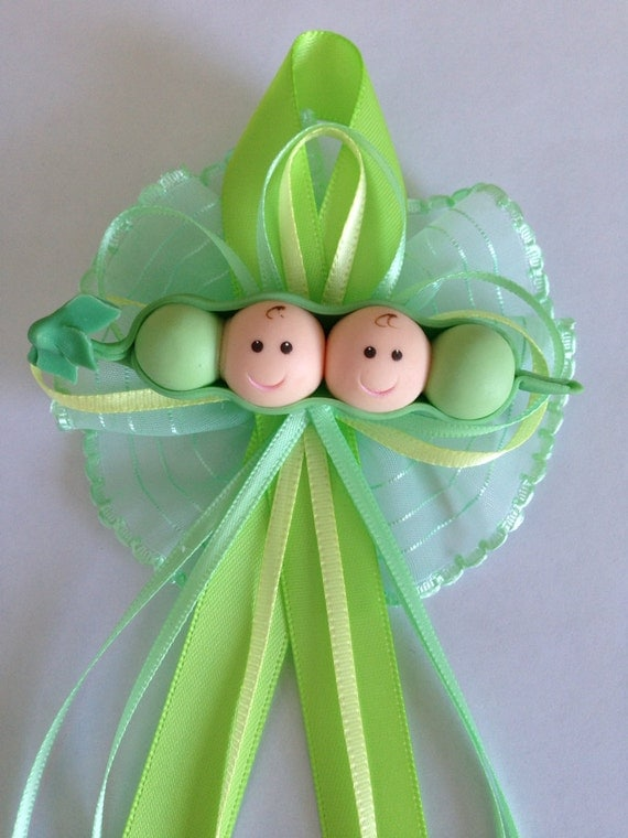 two peas in a pod twin baby shower by michellcustomdesigns