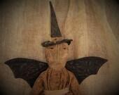 Primitive Witch, Primitive Doll, Primitive Witch Doll, Witch Doll, Halloween Doll, Halloween, Halloween Witch, OFG, HAFAIR, OFG,