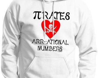 Pirates Love Arr-ational Numbers  Hoodie Sweatshirt 18500 - IT-119