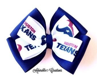 Houston Texans bow texans bow Houston bow NFL bow football bow sports bow