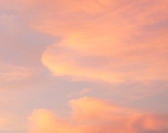 Pink Cloud Sky Photograph