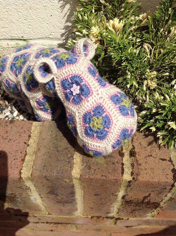 crochet hippo hippo toy hippo plush heidi bears pattern