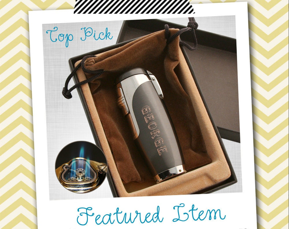 Groomsmen Gifts 1 Mens PERSONALIZED Lighter Engraved Lighter