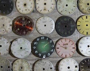 20 Old Vintage Watch Faces from USSR