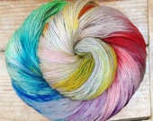 GLOOMY RAINBOW - Ultrafine Merino S/Wash 3-Ply Sock/Fingering Weight Yarn 100g