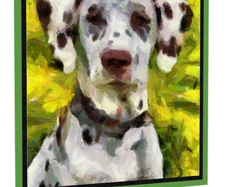 Dalmatian - Impressionism - Night Light