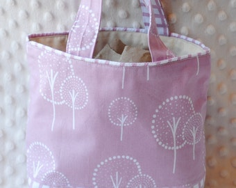 Pale pink trees- Little Handbags for Little Ladies