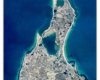 Block Island, Rhode Island - 2003 Aerial Photo  Composite