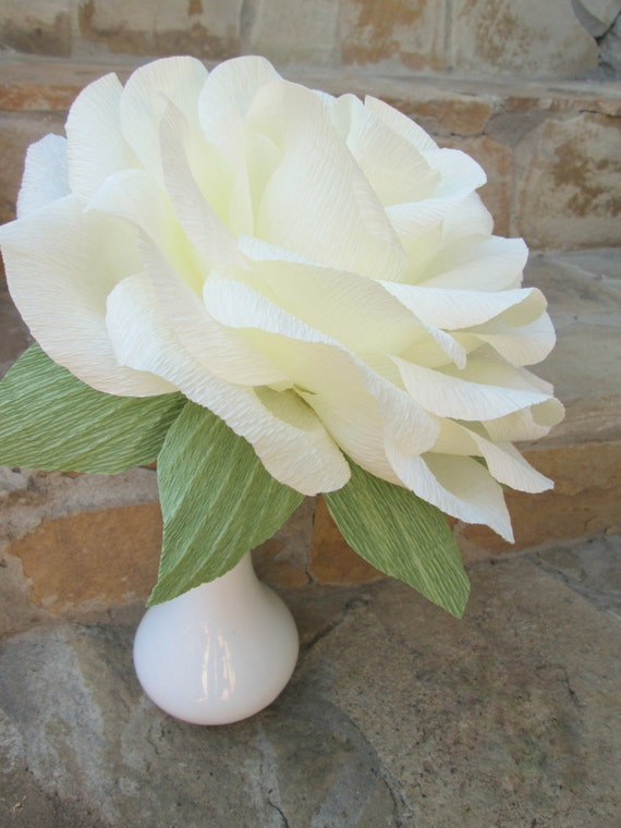Giant Paper Flower/Giant Paper Rose/Wedding Decoration/ Wedding ...