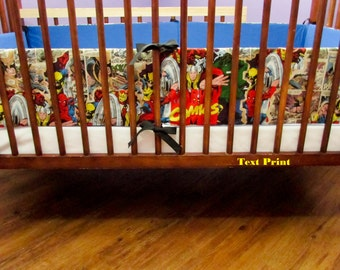 Marvel Super Hero Crib Bumper