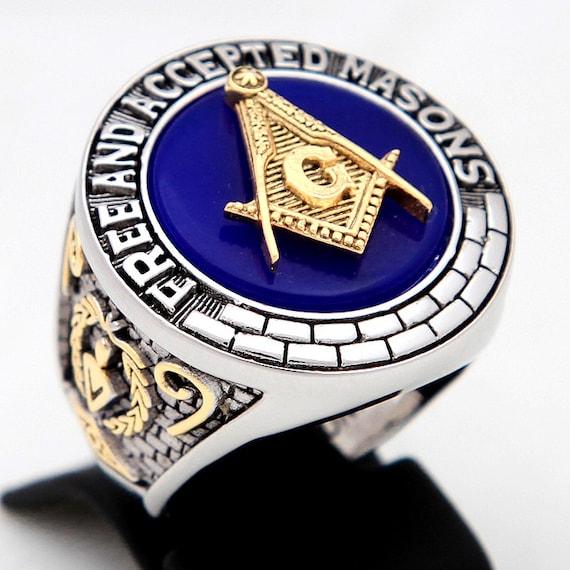 Freemason Ring Freemason Ring 18kt Gold