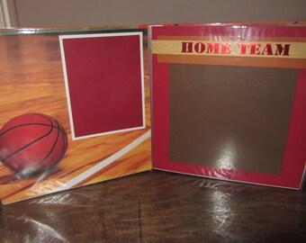 Premade Basketball Scrapbook