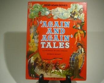 Again and Again Tales, 1979, Read again series, Eric Kincaid, Brimax Books, vintage kids book