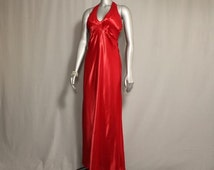 SALE (was 80.00) Candy Apple Red Gown for Holiday Parties, Award Shows, etc.