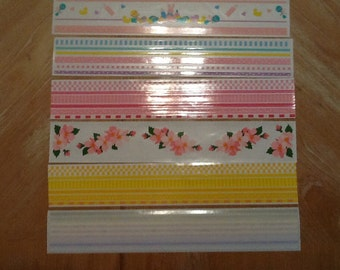 Mrs Grossman's Assorted Baby Girl Design Lines 6 Strips 089