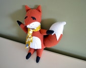 Dapper Plush stuffed Fox