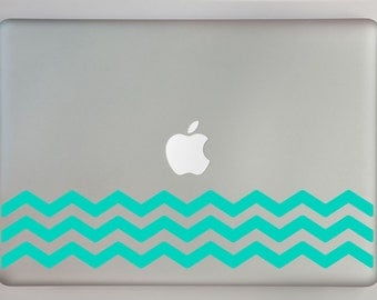 Bottom Chevron pattern Macbook Laptop Decal