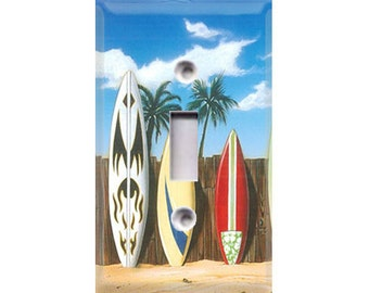 Surfboards Style 1 Light Switch Cover