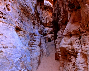 Small Slot Canyon - Valley of Fire - Nevada - Desert Landscapes - Nature Photography - Fine Art - 8x10