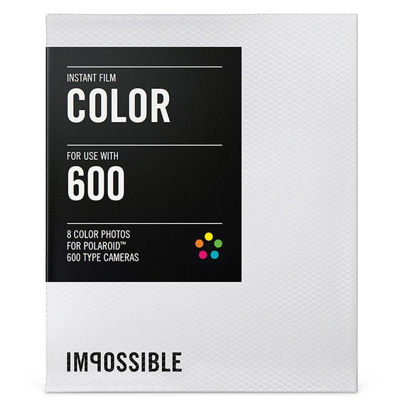 impossible project 600 film Polaroid 600 film showing 40 of 114 results that match your query search product result product - impossible project color film w/color frame (bundle of 5.