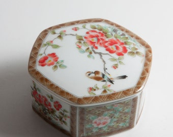 Japanese ceramic box.