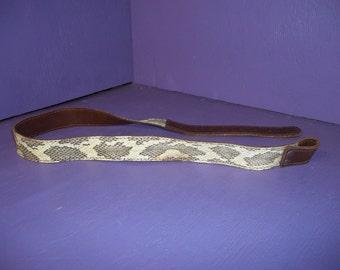 real animal taxidermy diamond back rattle snake skin reptile part belt