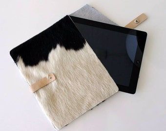 IPad sleeve leather