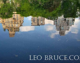 Large Print, Urban Landscape, Fifth Avenue Reflection, Central Park New York City USA,  May 2008
