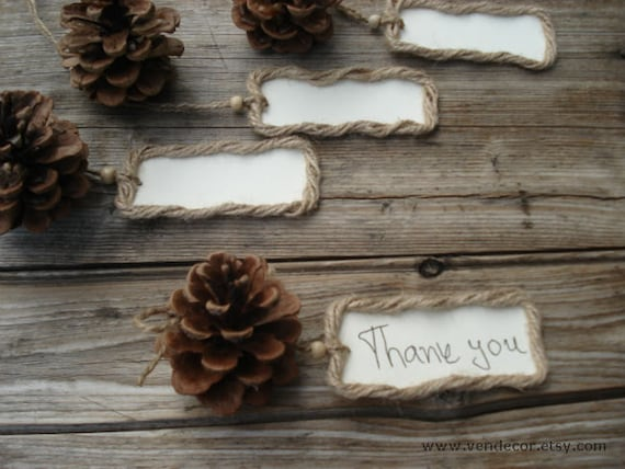 16 pine cone place cards natural place card holders seating place cards rustic woodland wedding favor table setting fall winter wedding