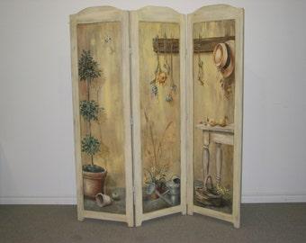 Art / Screen / Devider / Room Divider / Hand Painted Divider / Murals / Decorative Panel / Folding Screen