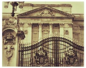 Buckingham Palace 8 x 10 Photography-European Architecture -Home Decor-European Travel-Royal Architecture-Wall Decor