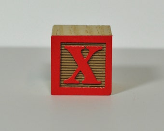 Red on Tan (Sample Block Color)