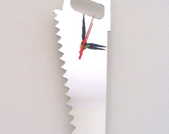 Saw Clock Mirror - 2 Sizes Available