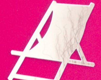 Deckchair Shaped Mirror - 5 Sizes Available