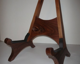 American Walnut Acoustic Guitar Stand