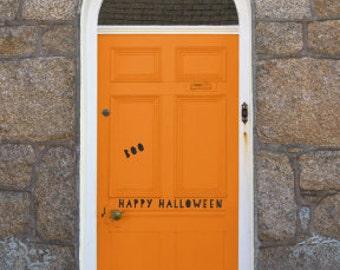 Halloween Door Decals - Halloween Fabric Door Decals