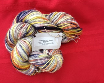 Fireworks  Wool/Angora blend Yarn
