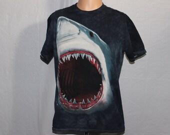 Vintage Great White Shark T-Shirt L